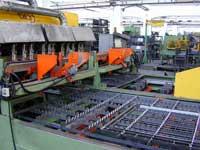 Herstellung der Seitengitter Rollwagen SRC